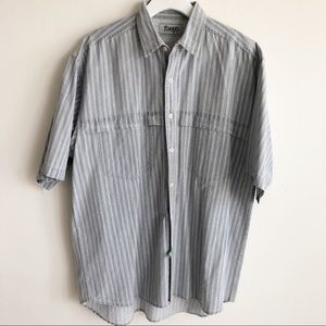 Vintage 80s Tomato Mens Button Shirt size L Faded